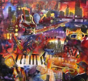 schilderij-jazz-blues